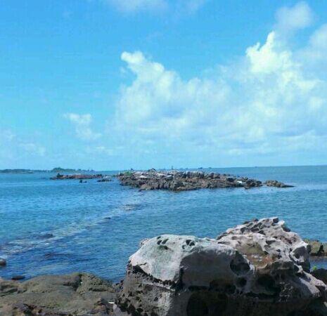 珍珠岛在碧水蓝天中犹如世外桃源的存在
